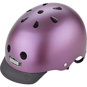 Nutcase Street Helmet Kinder passion purple pearl metallic